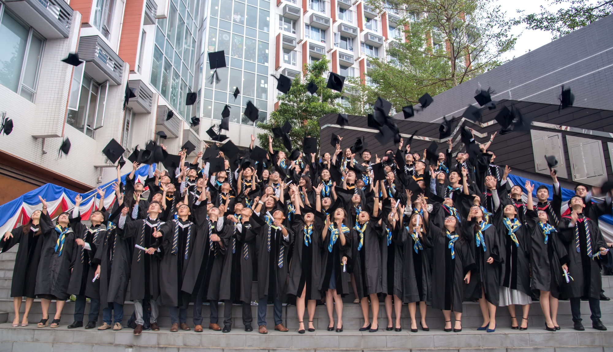 Graduation Ceremony S H Ho College The Chinese